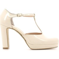 Shoes Women Sandals Grace Shoes 958 High heeled sandals Women Beige Beige