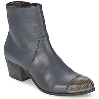Shoes Women Ankle boots Vic LONDRA Blue