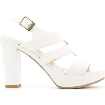 Shoes Women Sandals Grace Shoes M52 High heeled sandals Women White White