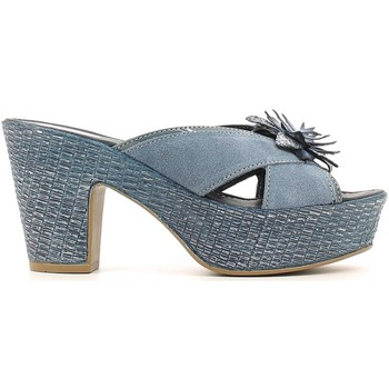 Shoes Women Sandals Grace Shoes 20127 Sandals Women Blue Blue