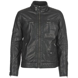 Clothing Men Leather jackets / Imitation leather Petrol Industries VESTE JAC150 Black