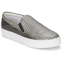 Shoes Women Slip-ons Senso AVA Pewter / Metallic