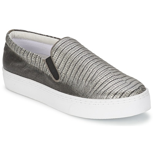 Shoes Women Slip-ons Senso AVA Pewter / Metallic