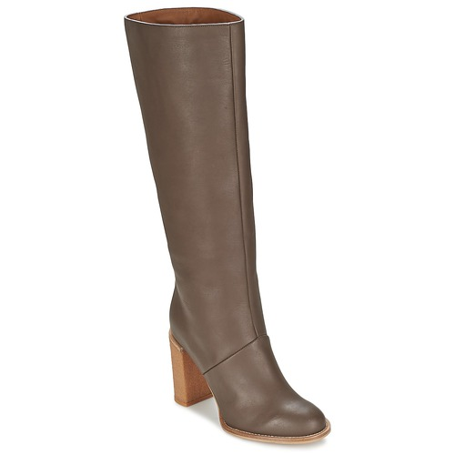 Shoes Women High boots See by Chloé SB23005 Grey