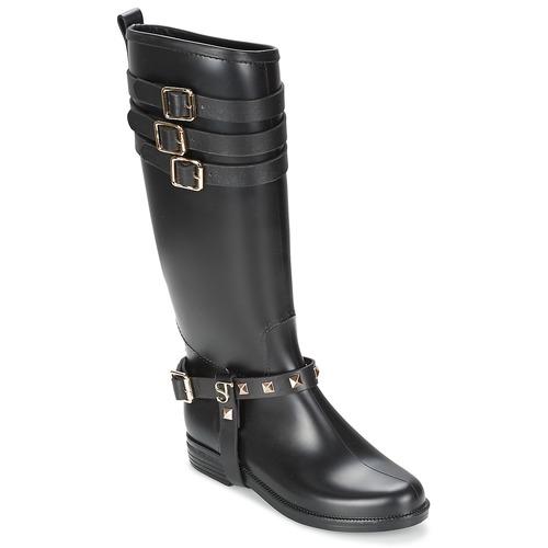 Shoes Women High boots SuperTrash SAMMY Black