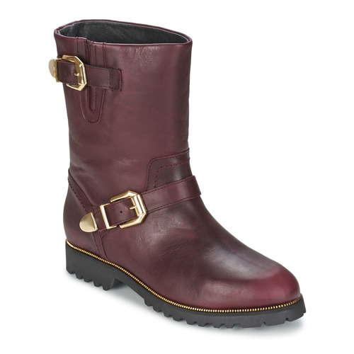 Shoes Women Mid boots SuperTrash MARYLIN Bordeaux