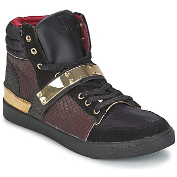 Shoes Women Hi top trainers SuperTrash GOLDY Bordeaux