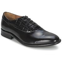 Shoes Men Loafers House of Hounds MILLER OXFORD Black