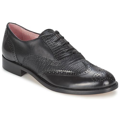 Shoes Women Brogues Elia B SPECTATOR  black