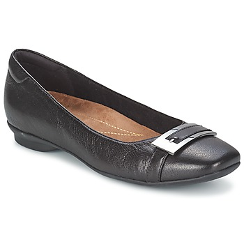 Shoes Women Flat shoes Clarks CANDRA GLARE Black