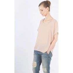 Clothing Women short-sleeved t-shirts Animagemella 16PE123 T-shirt Women Pink Pink