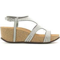 Shoes Women Sandals Grunland SB0497 Wedge sandals Women Grey Grey