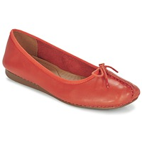 Shoes Women Flat shoes Clarks Freckle Ice / Grenadine / Lea