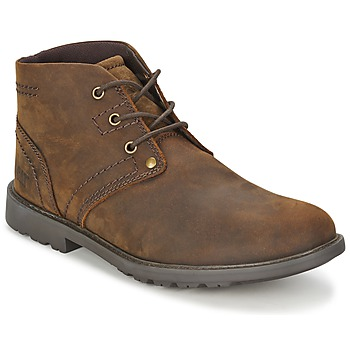 Shoes Men Boots Caterpillar CARSEN MID Tan