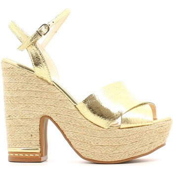 Shoes Women Sandals Grace Shoes 0-71712 High heeled sandals Women Gold Gold