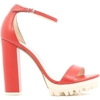 Shoes Women Sandals Grace Shoes 3-51091 High heeled sandals Women Red Red