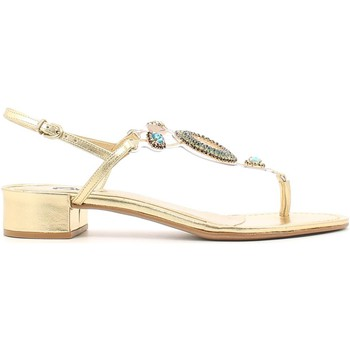 Shoes Women Sandals Grace Shoes 0-72103 Flip flops Women Gold Gold