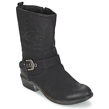 Shoes Women Mid boots Spot on GANIA  BLACK