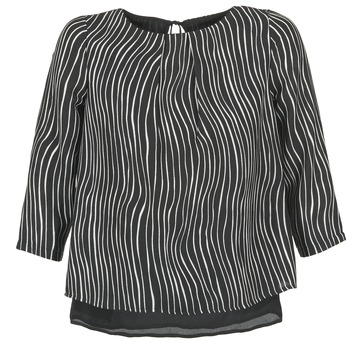 Clothing Women Tops / Blouses Betty London FADILIA Black / White