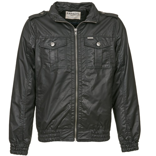 Clothing Men Jackets Kaporal CYOTO Black