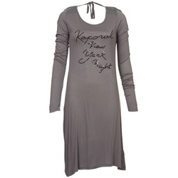 Clothing Women Short Dresses Kaporal TALET Grey