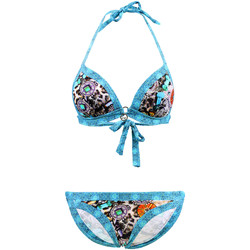 Clothing Women Bikinis Les P'tites Bombes 2-Piece Swimsuit  Triangle 003 Multicolored