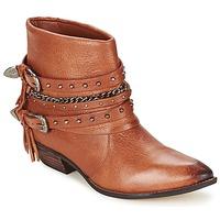 Shoes Women Mid boots Dumond ZIELLE Brown