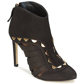Shoes Women Shoe boots Dumond ELOUNE Black