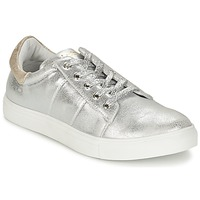 Shoes Women Low top trainers Les P'tites Bombes BABOU Silver