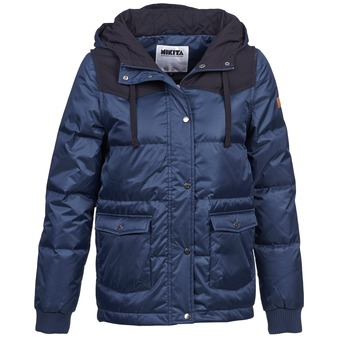 Clothing Women Parkas Nikita EXPLORING DOWN Blue