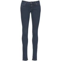 Clothing Women slim jeans School Rag NEW LINDSEY Blue / Raw