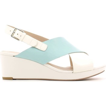 Shoes Women Sandals Clarks 117672 Wedge sandals Women Bianco