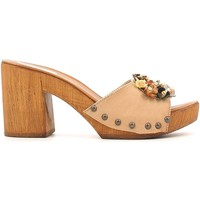 Shoes Women Clogs Grace Shoes 72100 Sandals Women Beige Beige