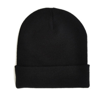 The Idle Man  Original Beanie Black  mens Cap in Black