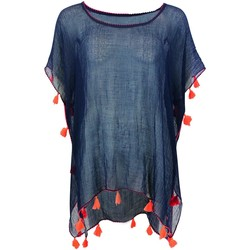Clothing Women Tunics Banana Moon Tunic  Farfala Cumbia Navy