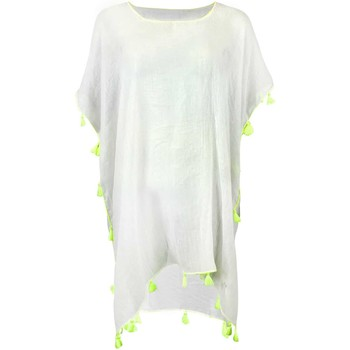 Clothing Women Tunics Banana Moon Tunic White  Farfala Cumbia