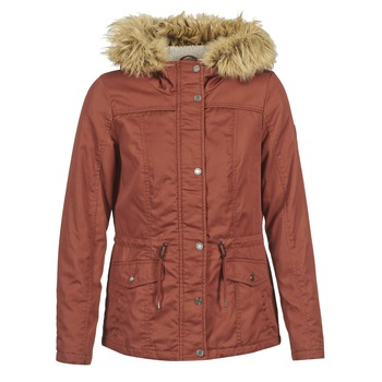 Clothing Women Parkas Only KATE BORDEAUX