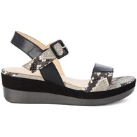 Shoes Women Sandals Melluso WALK DIAMANTI Nero
