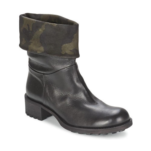Shoes Women Mid boots JFK TARZAN Black