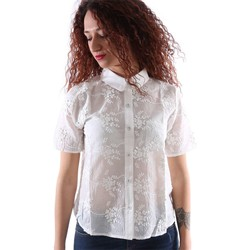 Clothing Women Shirts Gazel AB.CA.MC.0006 Shirt Women White White