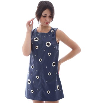 Clothing Women Short Dresses Denny Rose 63DR11010 Dress Women Blue Blue