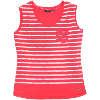 Clothing Women Tops / Sleeveless T-shirts Key Up S82Z 0001 Canotta Women Red Red