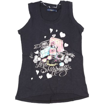 Clothing Women Tops / Sleeveless T-shirts Key Up S88Z 0001 Canotta Women Black Black