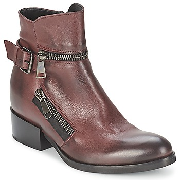 Shoes Women Ankle boots Strategia ZOOLI BORDEAUX