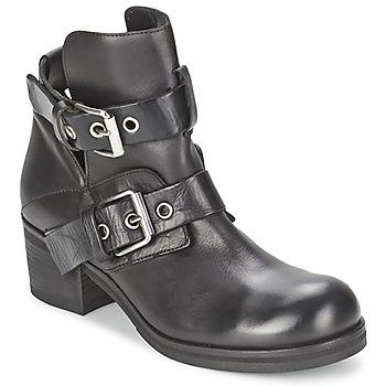 Shoes Women Ankle boots Strategia CRECA Black