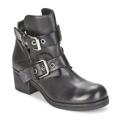 Shoes Women Ankle boots Strategia CRECA Black
