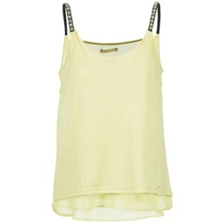 Clothing Women Tops / Sleeveless T-shirts LPB Woman BRICCOM Yellow