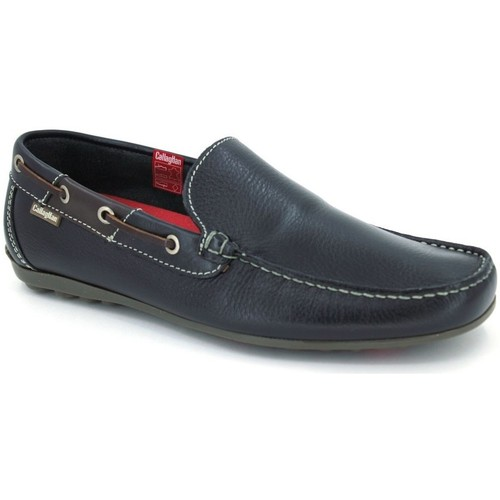 Shoes Men Loafers CallagHan 74200 Steling Men´s Shoes blue