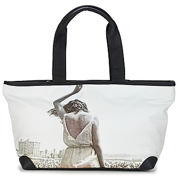 Bags Women Shopping Bags / Baskets Kothai CABAS MICRO GIRL Black / White