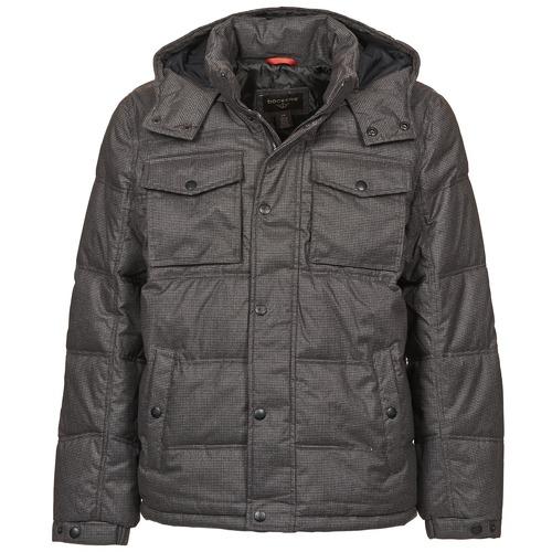 Clothing Men Duffel coats Dockers HERRINGBONE PARKA Grey